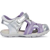 Geox sandały dziewczęce roxanne 26 srebrne