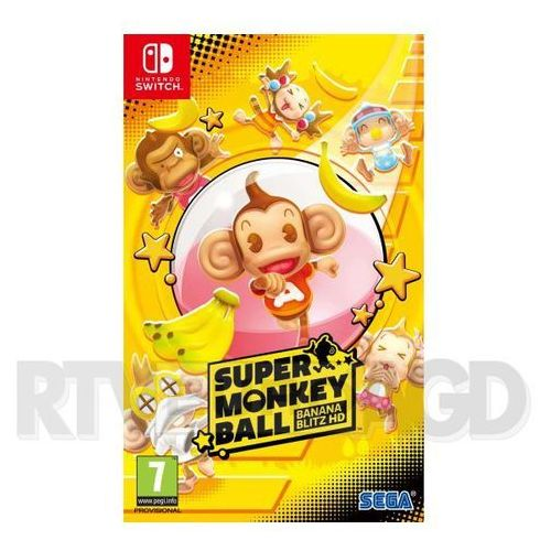 Super monkey ball banan blitz hd marki Sega