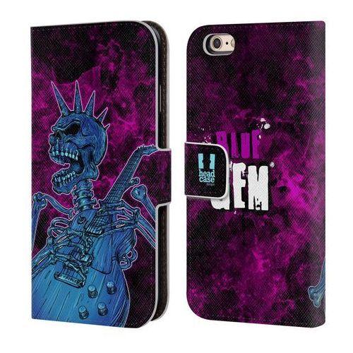 Etui portfel na telefon - Skull Of Rock Blue Gem z kategorii Futerały i pokrowce do telefonów