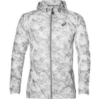 Asics Fuzex Packable Jacket - męska kurtka biegowa (biały)