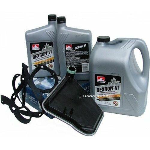 Olej dextron atf vi oraz filtr oleju automatycznej skrzyni biegów ax4s ford taurus marki Petrocanada-proking