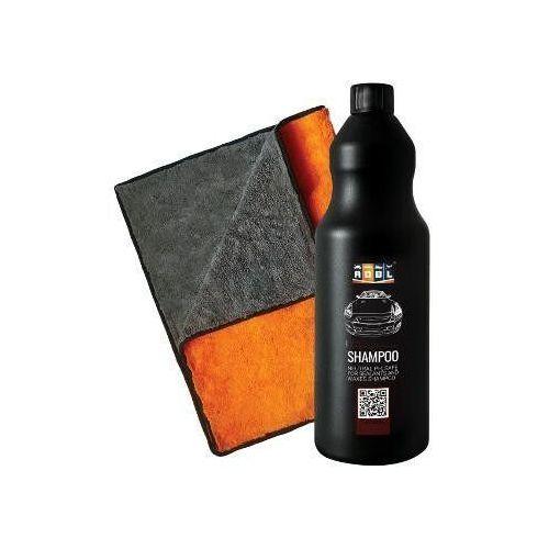 Adbl shampoo 1l + puffy towel xl - zestaw do mycia
