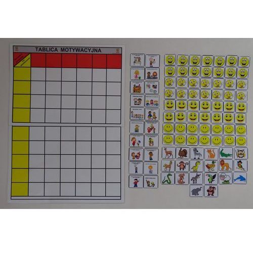 Bystra sowa Tablica motywacyjna dla grupy przedszkolnej ( 9 osobowa)