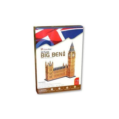 Cubic Fun, puzzle 3D Zegar Big Ben, 5_523824