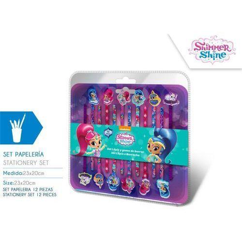 Ołówki z gumką Shimmer i Shine 12 szt