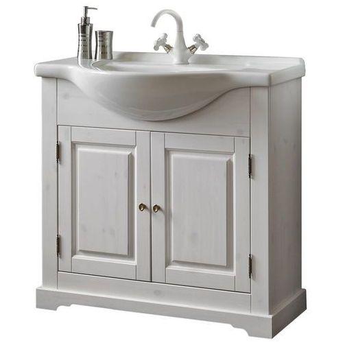 Drewniana szafka pod umywalkę ROMANTIC NOWY FSC 861-U85