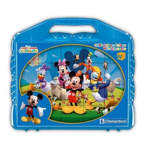 Klocki Cubes 24 Myszka Miki i Przyjaciele