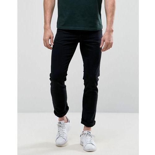 New Look Slim Jeans In Black Wash - Black