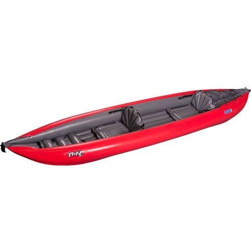 Gumotex twist 2 kajak szary/czerwony 2018 kajaki i canoe (8593371311285)