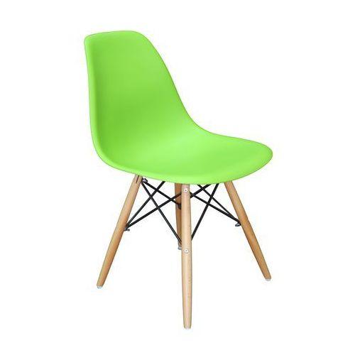 Krzesło Paris Zielone, kolor zielony