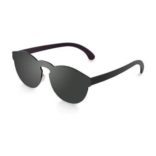 Okulary przeciwsłoneczne unisex 22-4_longbeach czarne marki Ocean sunglasses