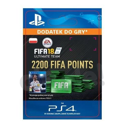 FIFA 18 2200 Punktów [kod aktywacyjny]