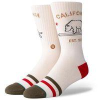 Skarpetki - california republic cream (crm) rozmiar: l, Stance