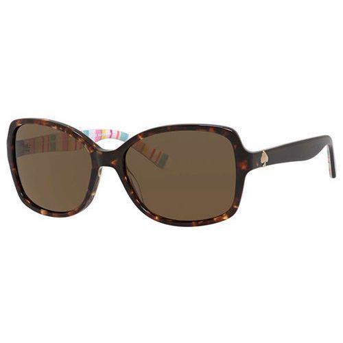 Okulary słoneczne ayleen/p/s polarized 0rnl vw marki Kate spade