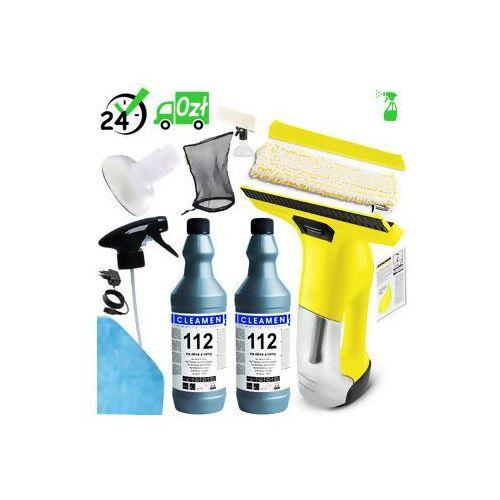 Wv 6 plus (300m2, 100min) myjka do okien detergent xxl+ 9w1 ✔ do 31.10 serwis premium za 1zł! ✔zaplanuj dostawę ✔sklep specjalistyczny ✔karta 0zł ✔pobranie 0zł ✔zwrot 30dni ✔raty ✔gwarancja d2d ✔leasing ✔wejdź i kup najtaniej marki Karcher