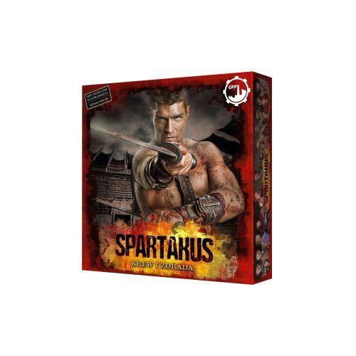 Spartakus: krew i zdrada. gra planszowa marki Games factory publishing