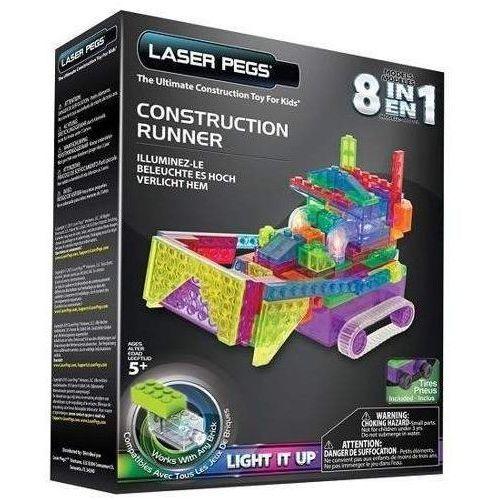 Klocki laser pegs 8 w 1 Construction runner