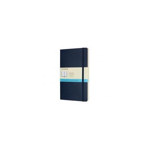 kolorowy writing notebook, szafir large marki Moleskine