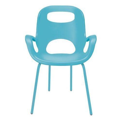 Umbra - 2 krzesła oh chair - turkusowe - turkusowy