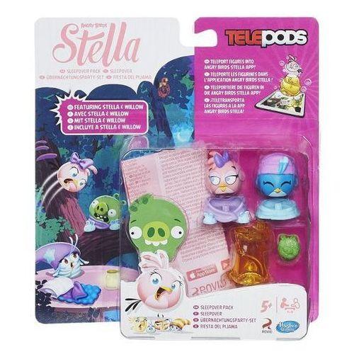 Hasbro Gra  angry birds - stella i willow z telepodem a8885 (5010994812485)