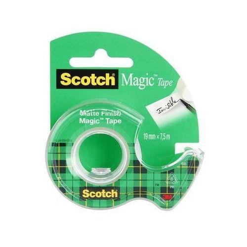 3m Scotch taśma klejąca magic matowa na podajniku 890 (8-1975), 19mmx7,6m