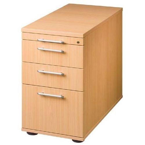 Kontener stacjonarny, z regulacją wysokości, 1 szuflada na przybory, 2 szuflady,