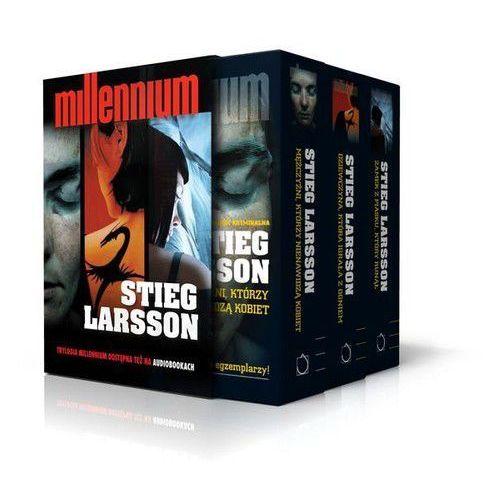 Trylogia Millennium. Pakiet - Jeśli zamówisz do 14:00, wyślemy tego samego dnia. Darmowa dostawa, już od 99,99 zł.