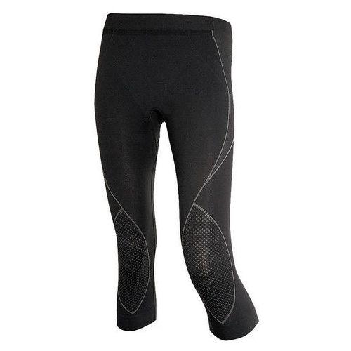 Spodnie sp10090 damskie 3/4thermo czarny marki Brubeck