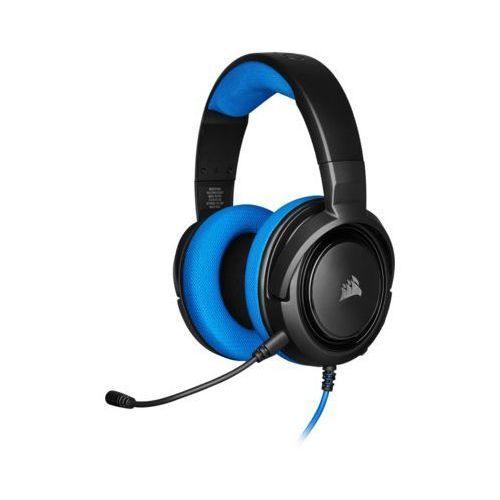 Zestaw słuchawkowy CORSAIR HS35 Niebieski (0840006607557)