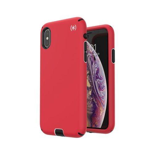 presidio sport etui obudowa iphone xs / x (black/poppy red) marki Speck