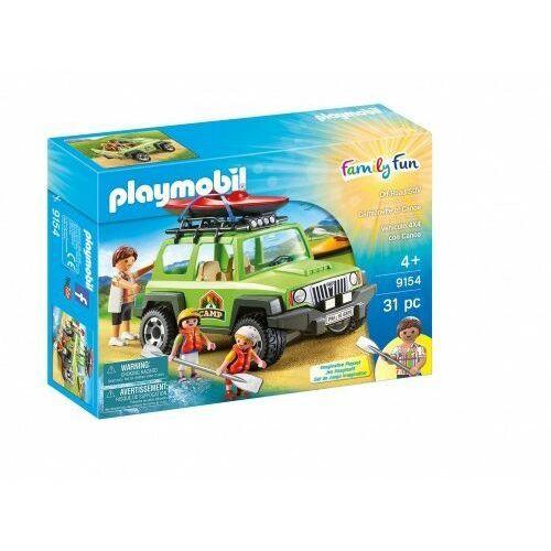 Playmobil Samochód suv 4x4 kajaki jeep 9154