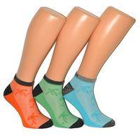 Stopki sport sneaker socks art.16839 męskie 39-42, czarny/nero, wik, Wik