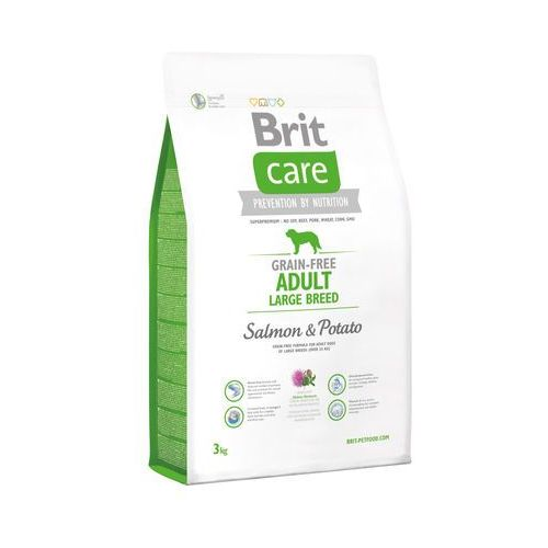 BRIT Care Grain-Free Adult Large Breed Salmon & Potato 3 kg - 3000 (8595602510191)