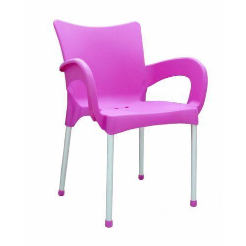 Mega plast krzesło smart mp1273, różowe