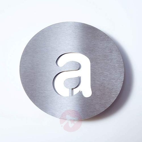 Absolut/ radius Tabliczka z numerem domu round, st. szl. – a