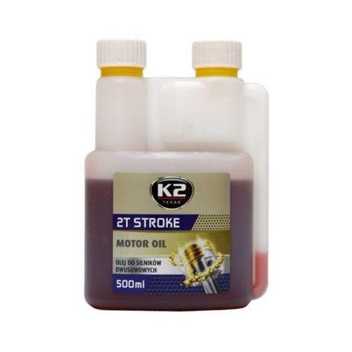 Olej do maszyn ogrodowych K2 2T Stroke 500 ml (czerwony)