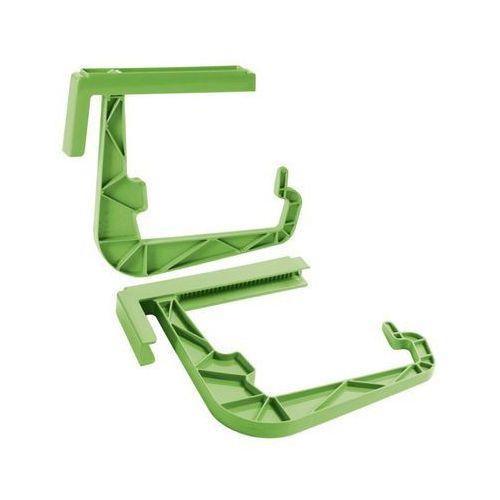 Uchwyt do skrzynek balkonowych oliwkowy marki Prosperplast
