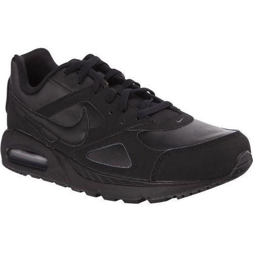 Nike air max ivo leather 002 black - buty męskie sneakersy