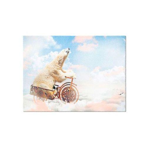 """Wycieraczka """"Niedźwiedź polarny"""" bonprix kremowy"""