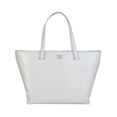 Torebka shopper damska CAVALLI CLASS -C00PW16C31D2-20, kolor biały