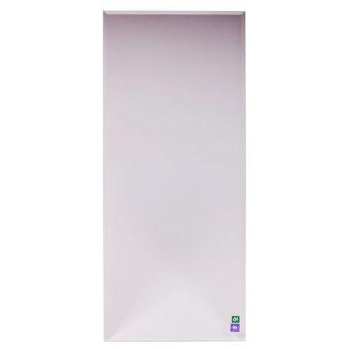 Lustro łazienkowe bez oświetlenia PROSTOKĄTNE 100 x 40 cm DUBIEL VITRUM, kolor biały