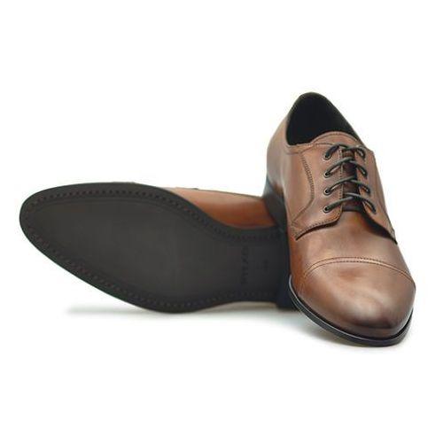 Pantofle iper01_th6f brązowe lico marki Ryłko
