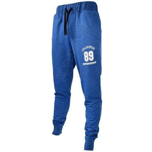 Outhorn Męskie spodnie dresowe hol17 spmd606 granatowy melanż m