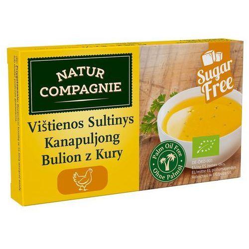 Bulion - kostki drobiowe bez dodatku cukrów bio 88 g - natur compagnie marki Natur compagnie (buliony, kostki rosołowe)