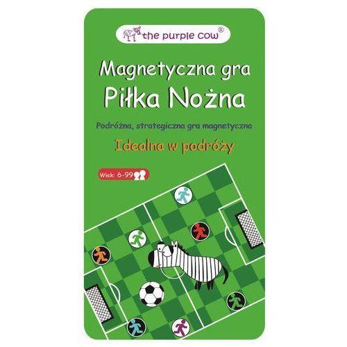 Podróżna gra magnetyczna Purple Cow - Piłka Nożna 7290014368620 (7290014368620)