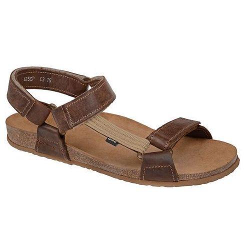 Sandały OTMĘT 415CP Brązowe BioForm Fussbett - Brązowy