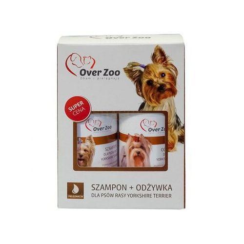 Dwupak york - szampon dla yorkshire terrier 250 ml + odżywka 250 ml marki Over zoo