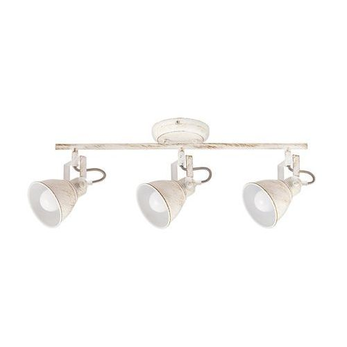 Listwa lampa sufitowa spot Rabalux Vivienne 3x40W E14 antyczna biel 5968 (5998250359687)