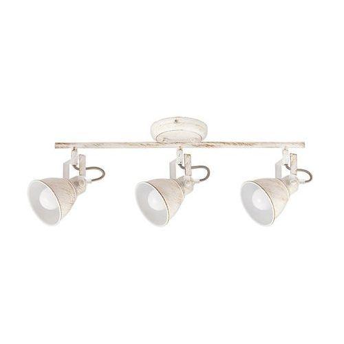 Rabalux Listwa lampa sufitowa spot vivienne 3x40w e14 antyczna biel 5968