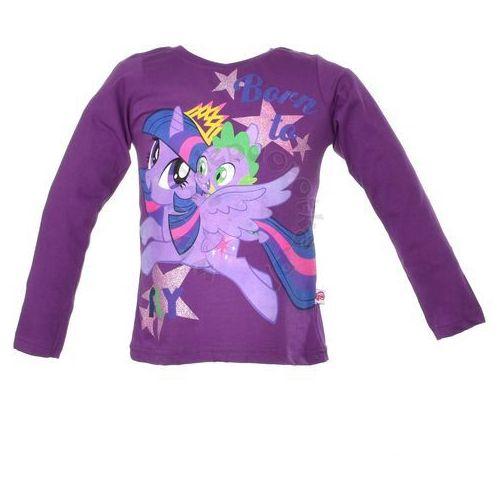 Bluzka z długim rękawem z postaciami z bajki My Little Pony - Fioletowy ||Kolorowy, kolor fioletowy